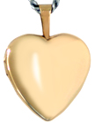 L4000 16mm heart locket