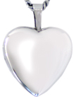 sterling 16 heart locket