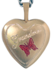 L4006 Grandma heart locket