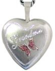 sterling locket for grandma