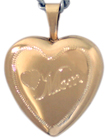 L4009 Mom heart locket
