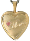 L4017 Mom with heart locket