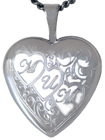 L4062K 3 hearts mum locket