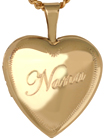 L4069 Nana 16mm heart locket