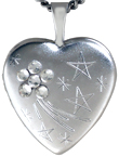 L4079 16mm heart locket
