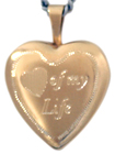 L4011 Pet heart locket