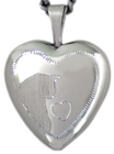 cat with heart locket