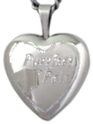 L4016s 16mm cat heart locket
