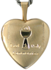 L4032 first communion locket