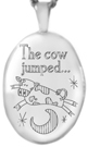 L7104 cow jumped over the moon locket
