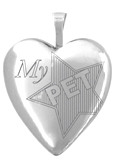 L5001 my pet heart locket