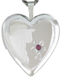 L5022 cat heart locket