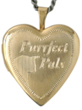L5025 Purrfect Pals cat heart locket