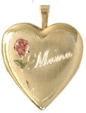 L5054 Mama 20mm heart locket