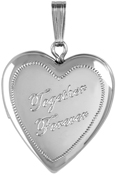 L5069 Together Forever cremation locket