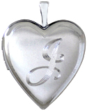 L5080 20mm initial heart locket