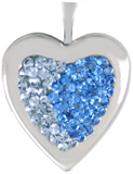 L5081 Apoxie 20mm heart locket