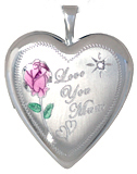 L5115D 20mm heart mom locket