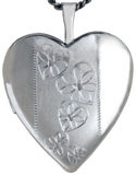 L5125 20mm heart locket with hearts