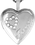 L5150 forever heart locket