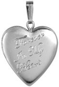 L5159CR forever in my heart cremation locket