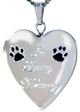 L5166CRE Loving memory pet locket