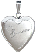 L5171 20mm grandma heart locket