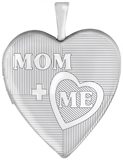 L5188 Mom and me heart locket