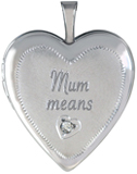 L5239 mom 20mm heart locket
