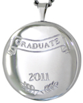 sterling 22mm round graduate locket