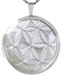 L1062 Flower of Life round locket