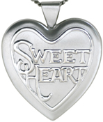 L6008 Sweetheart 25mm heart locket
