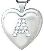 L6057 initial heart locket