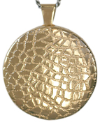 L2002 30mm round reptile locket