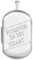 L1232CR forever in my heart cremation locket
