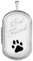 L1233 pet friend cremation locket