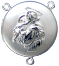 C1113RC st anthony locket rosary center