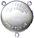 saint francis locket rosary center