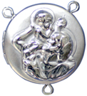 C1117 saint christopher rosary locket