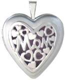 L5222 Mom overlay heart locket