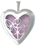 L5226 nouveau overlay heart locket