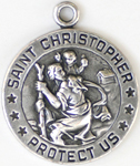 C731 Saint Christopher Military Medals