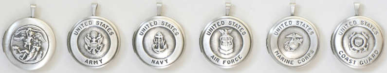 Saint Michael Military Lockets