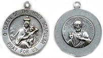 C760 scapular communion medal