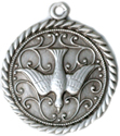 C996 holy spirit medal