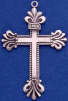 C359 sterling silver large cross