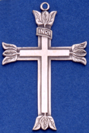 C361 sterling large cross
