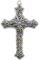 C442 Our Father Cross with prayer and stones