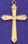 C61 cross with 5 stones