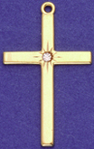 C81 cross with stones